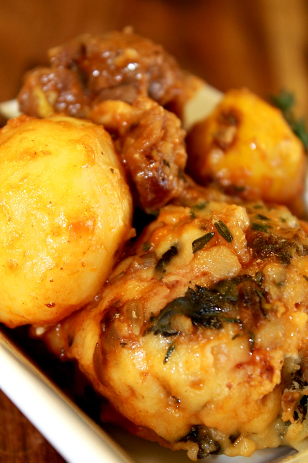 Venison Stew With Orange, Thyme And Cheddar Dumplings Recipe ...