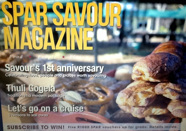 Featured: Spar Savour Magazine