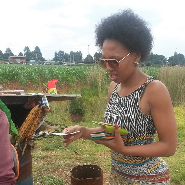 Mzansi Celebs About that Traditional Food Life