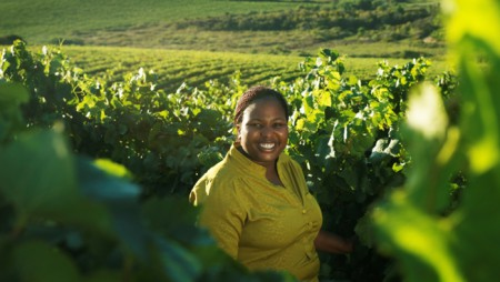 Woman in Wine:  Praisy Dlamini