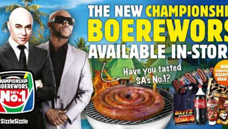 #SizzleSizzle:  Championship Boerewors Braai Pack Give Away