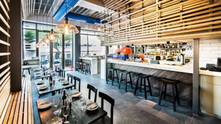Restaurant:  Bocca On Bree Street, Cape Town
