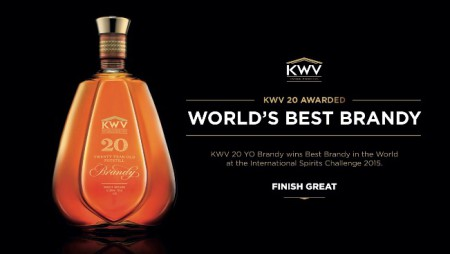 KWV Brandy Makes History Winning 'Word's Best Producer' & 'Best Brandy In The World' Accolades