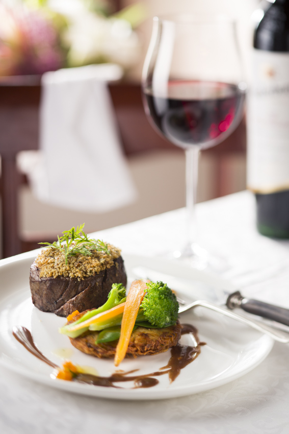 Crusted fillet