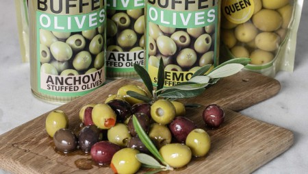 Buffet Olives Giveaway + Olive and Onion Tart Recipe