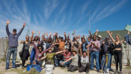 Nature Returns to Khayelitsha through Strongbow® and Greenpop's Urban Greening Project