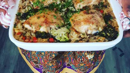 RECIPE: Baked Chicken and Coconut Rice