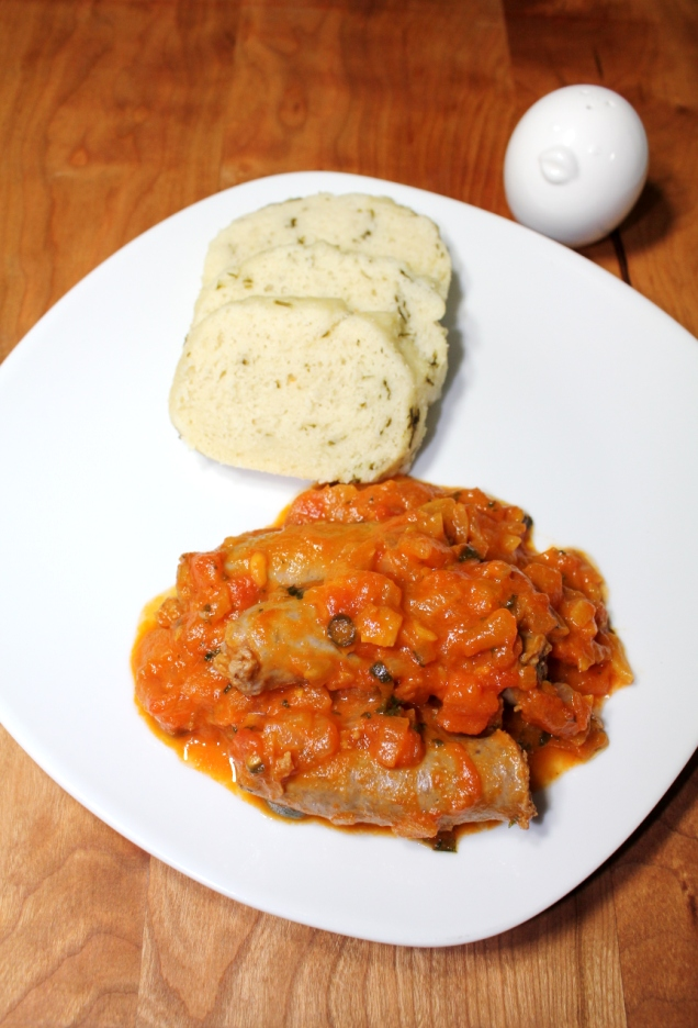 Herbed ujeqe with tomato relish boerewors sausage for African cuisine history