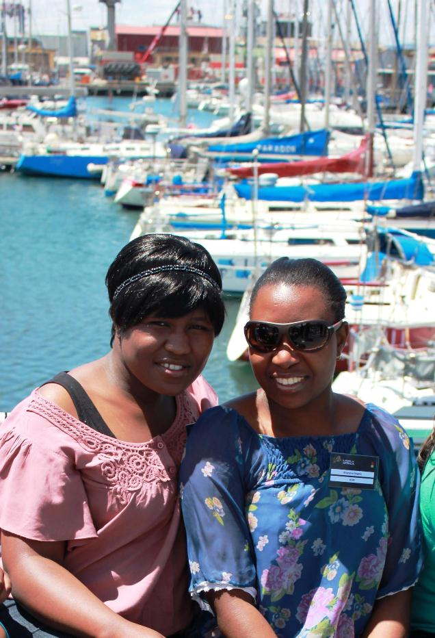 Chubby Thuli (on the left) in 2011