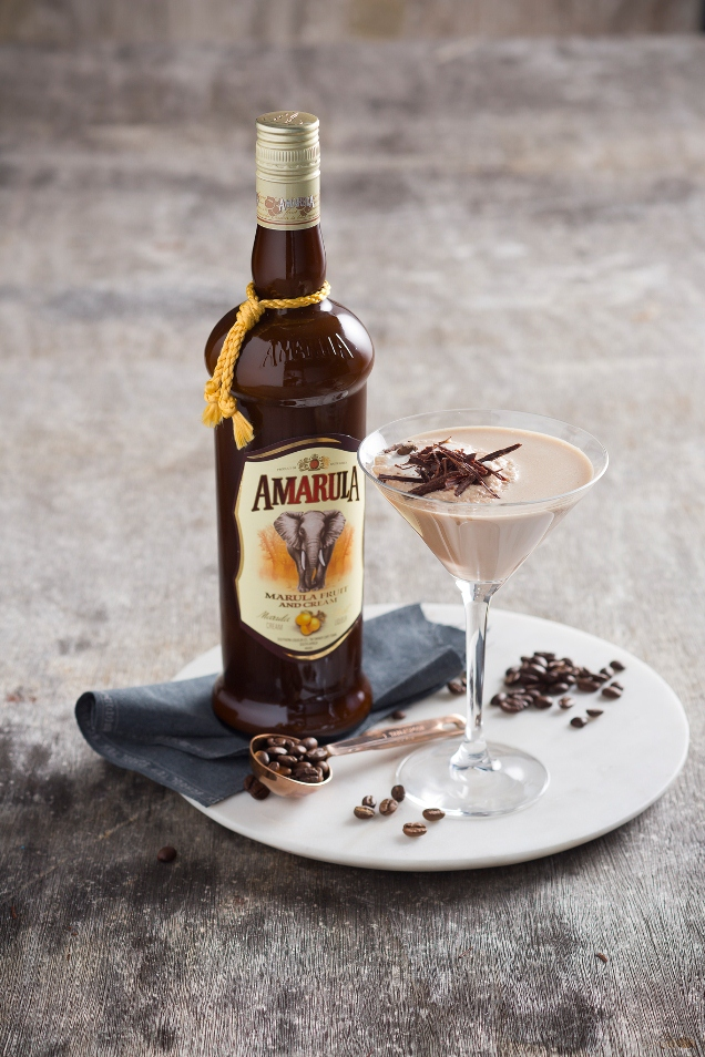 Shaken Amarula Martini For Mother's Day