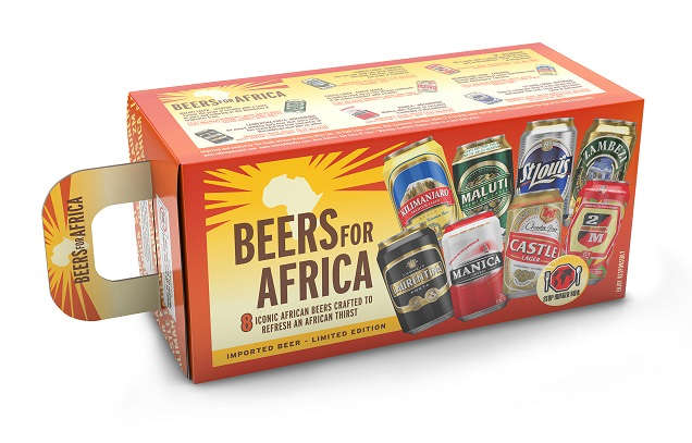South African Breweries launches Taste of Africa pack