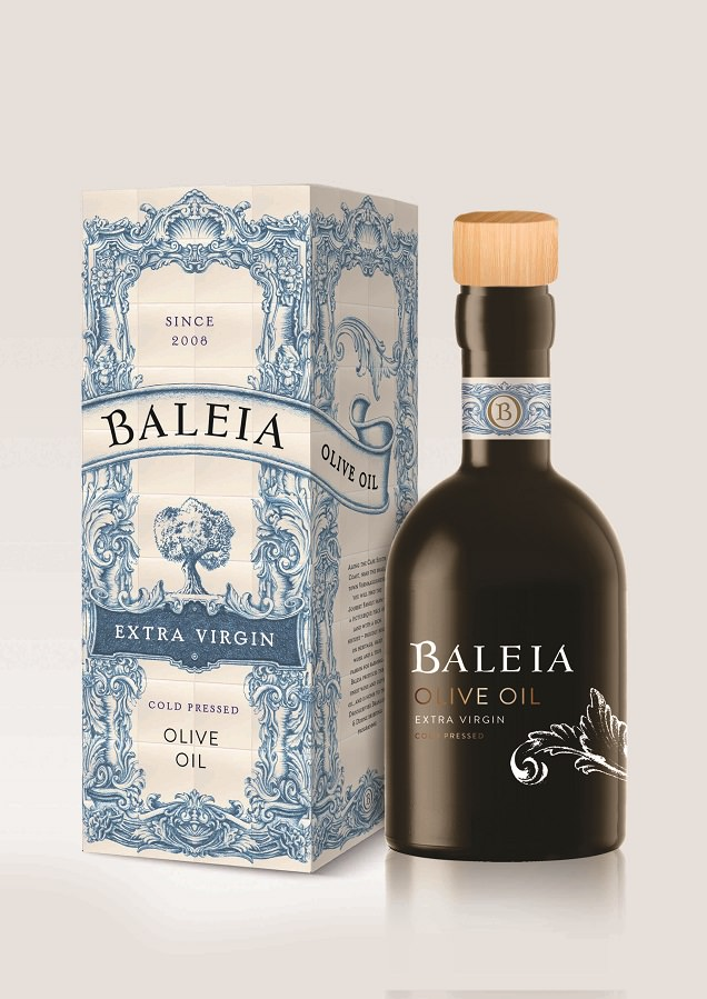 Baleia Extra Virgin Cold Pressed Olive Oil 2017