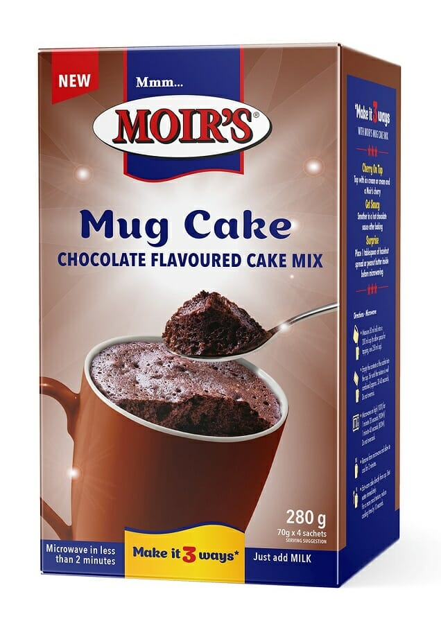 MOIR'S Mug Cakes - Rich Chocolate